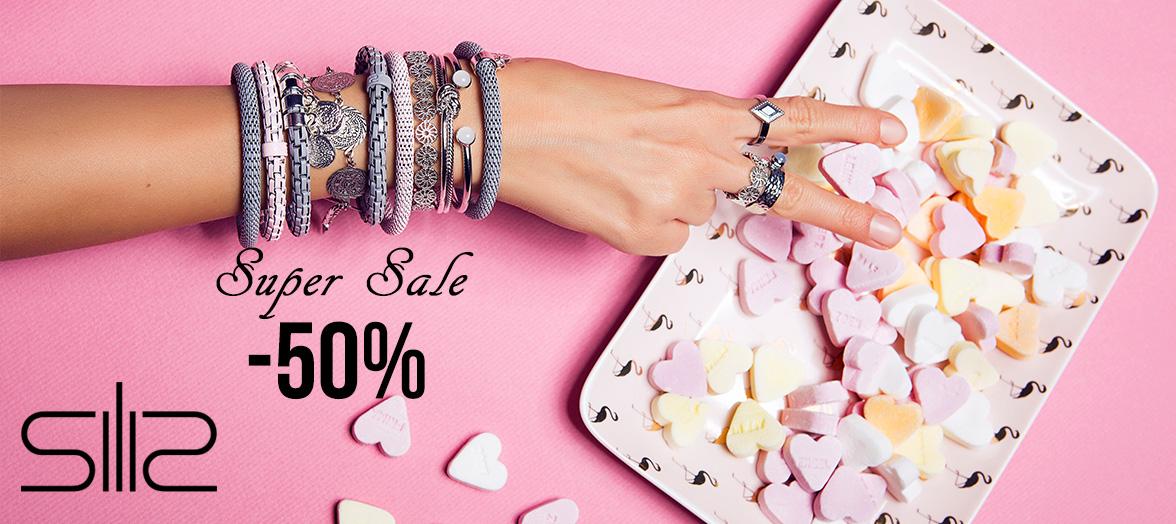 Super Sale op Silis juwelen