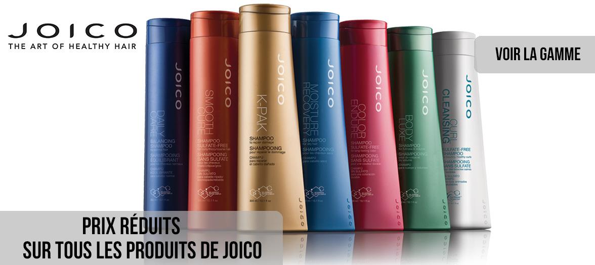 Prix reduits sur Joico