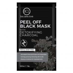 BCL Spa Peel Off Black Mask - Clarifying Charcoal 5st