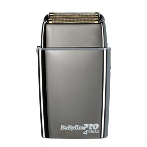 Babyliss Pro Double Foil Gunsteel Metal Shaver FXFS2GSE