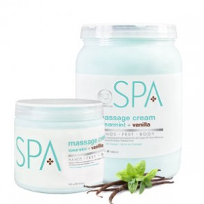 Spearmint + Vanilla Massage Cream