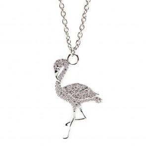 Silis Necklace Flamingo So Silver