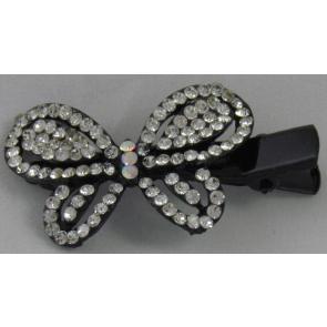 Haarspeld zilver vlinder