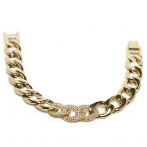 Silis The Chain Strass Gold Out