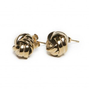 Silis The Earrings Knots Gold Out