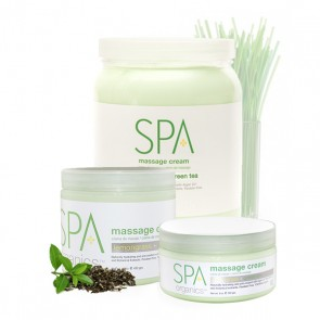 Lemongrass + Green Tea Massage Cream