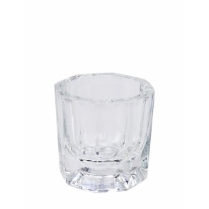 Acryl mengpotje /glaasje
