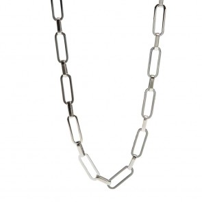Silis The Necklace Square So Silver