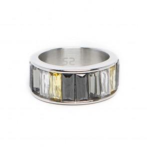 Silis The Ring Baguette Grey Tones