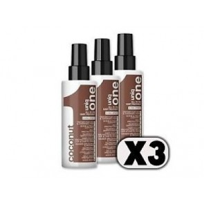 3 x 150ml Treatment Coconut (Wit)