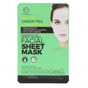 BCL Essential Oil Facial Mask Detox Green Tea
