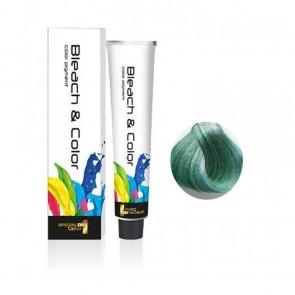 Bleach & Color Cream 80ml Green