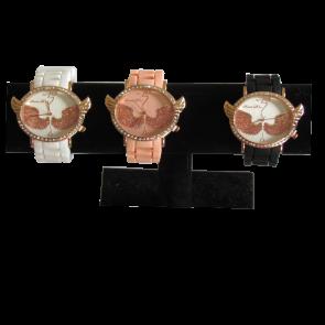 Dames horloge met vleugels