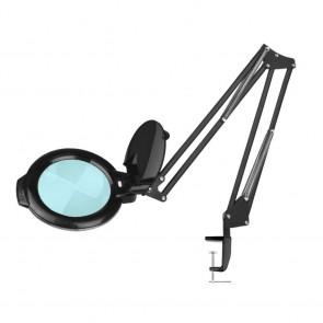 Loeplamp LED Zwart met Tafelklem