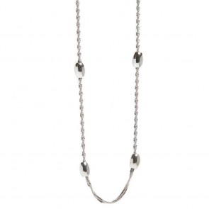 Silis Necklace Bean So Silver