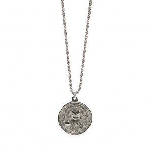 Silis Necklace Coin XL So Silver
