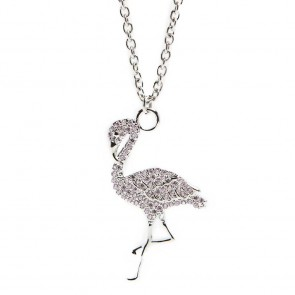 Silis Necklace Flamingo So Silver
