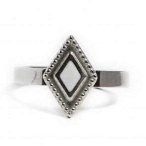 Silis Ring Square So Silver