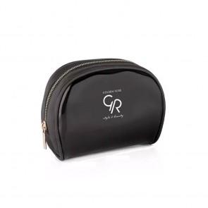 Make Up Bag Golden Rose Sheer Black