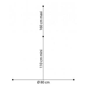 Sibel Straighten Verstelbaar 3-pootstatief voor oefenhoofden