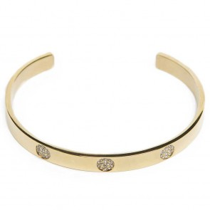 Silis The Esclave Strass Gold Out