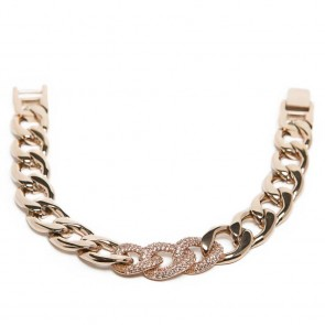 Silis The Chain Strass Rosé All Day