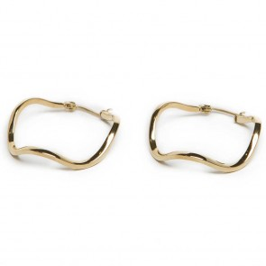 Silis The Earring Wave Gold Out