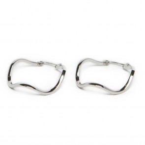 Silis The Earring Wave So Silver