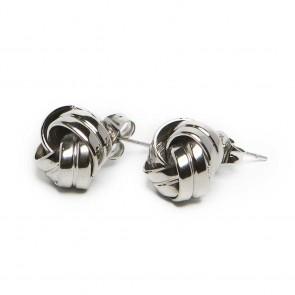 Silis The Earrings Knots So Silver