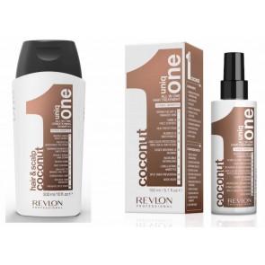 Uniq One - 150ml Coco Treatment + 300ml Coco Shampoo