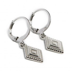 Silis Earring Square So Silver