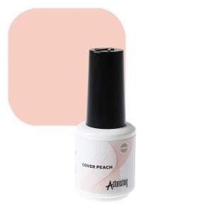 Astonishing Nails 1 Step Brush Builder Cover Peach 15ml