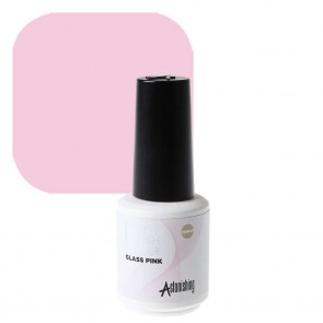 Astonishing Nails 1 Step Brush Builder Glass Pink 15ml