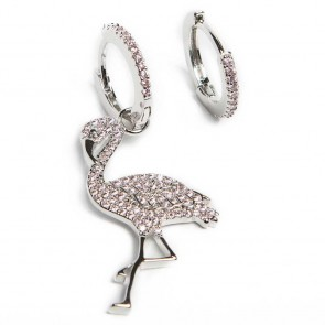 Silis Earring Flamingo So Silver