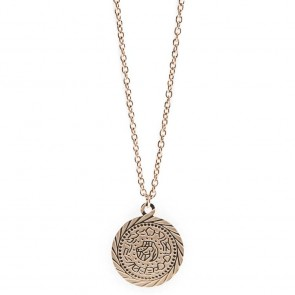 Silis Necklace Gypsy Coin Rosé All Day