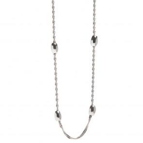 Silis Necklace Bean So Silver
