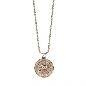 Silis Necklace Coin XL Rosé All Day