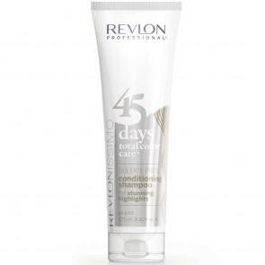 Revlon 45 Days 2 in 1 Shampoo, Stunning Highlights