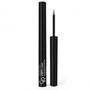 Vinyl Liner Waterproof Eyeliner Glossy Black